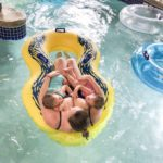 Breastfeeding in Public, Lazy River Style!